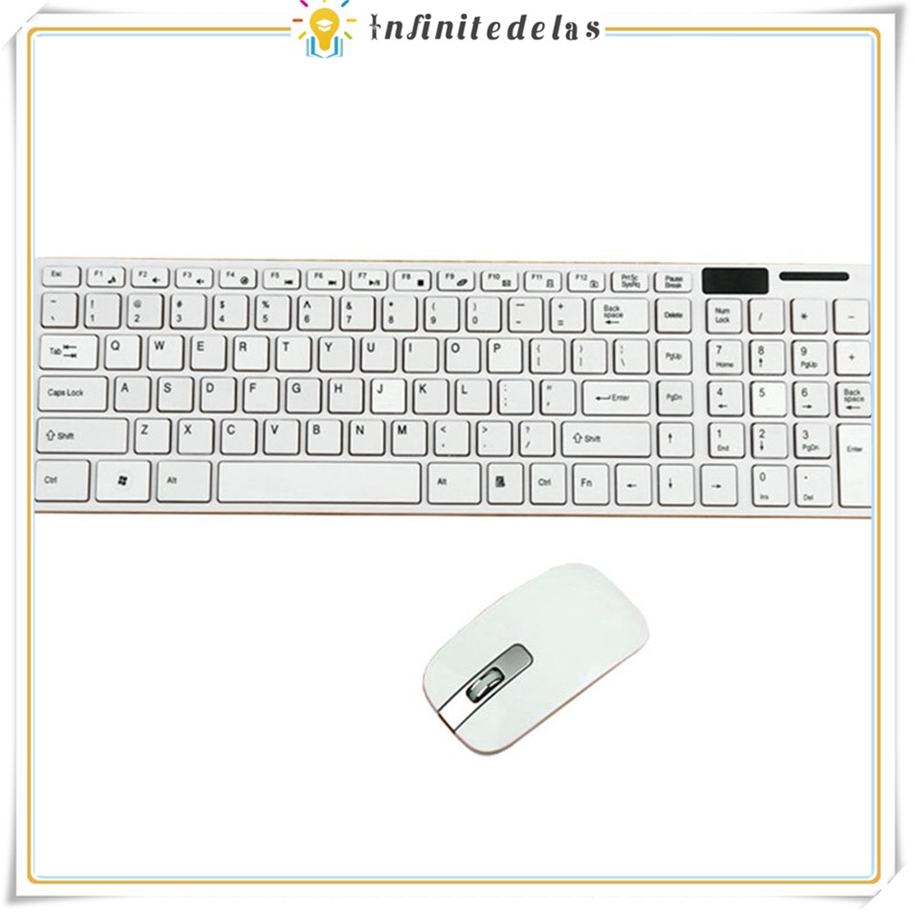 INFINITE K-906 Mechanical Suspension Hand Keyboard 2.4G Wireless Keyboard Mouse Set For Home Giá chỉ 241.957₫