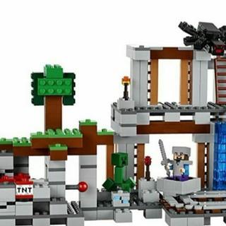 LEGO MY WORLD MineCraft 2in1 CĂN CỨ BÍ MẬT