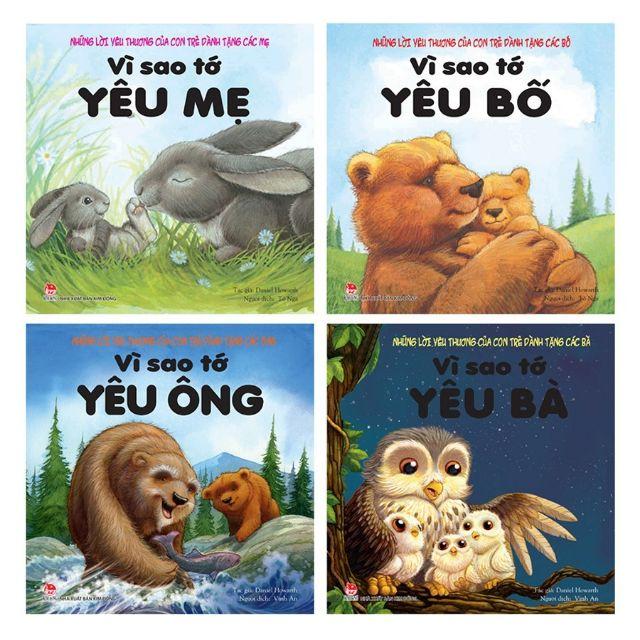 Sách - Vì sao tớ yêu ( Trọn bộ 4 quyển, NXB Kim Đồng )