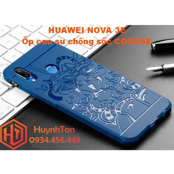 Ốp lưng Huawei Nova 3E _ ỐP cao su chống sốc Vân Rồng chính hãng Cocose (xanh) - 2882529 , 1082655076 , 322_1082655076 , 120000 , Op-lung-Huawei-Nova-3E-_-OP-cao-su-chong-soc-Van-Rong-chinh-hang-Cocose-xanh-322_1082655076 , shopee.vn , Ốp lưng Huawei Nova 3E _ ỐP cao su chống sốc Vân Rồng chính hãng Cocose (xanh)