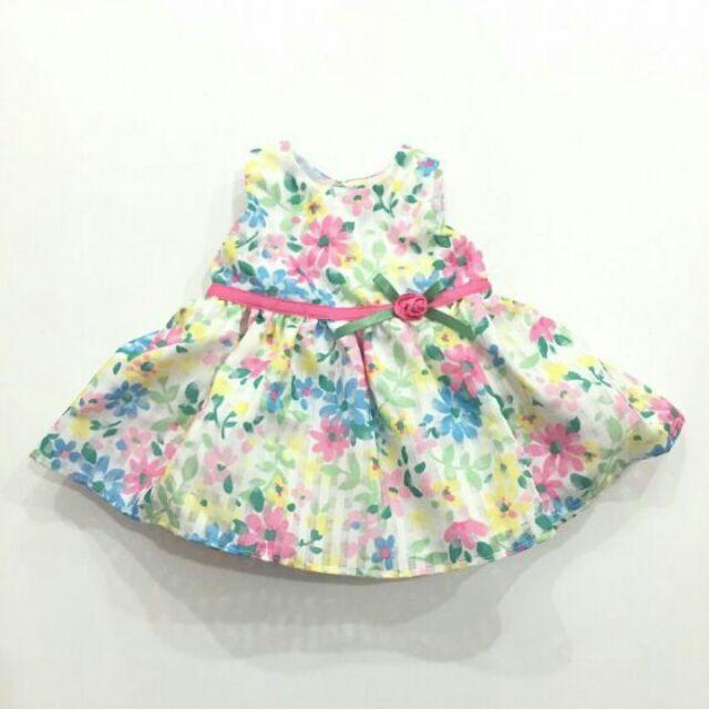 Váy xòe thu đông 2 lớp cho bé gái