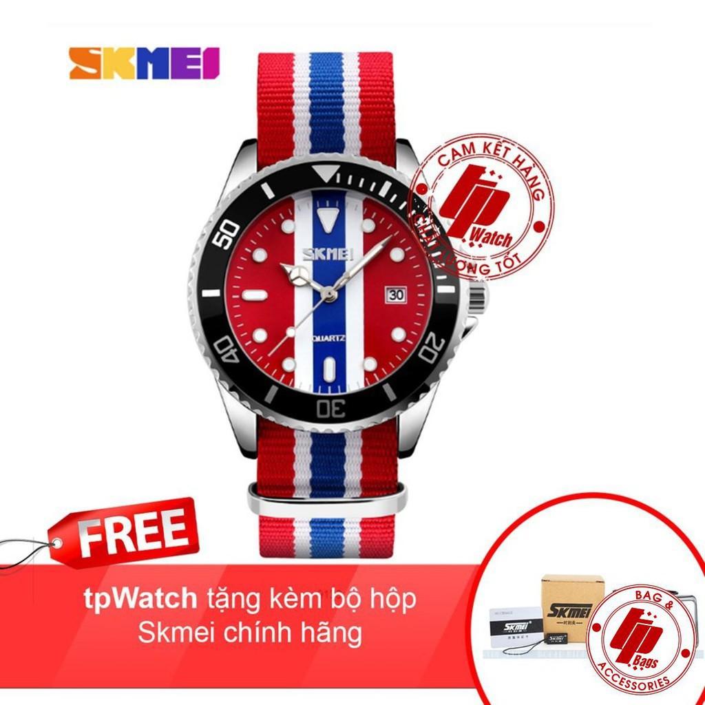 Đồng hồ nam Skmei 9133-Phong cách Anh quốc-tpWatch