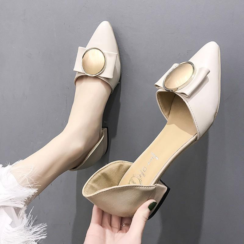 Giày búp bê phối khoá thời trang xinh xắn cho nữ - 13802061 , 2158812788 , 322_2158812788 , 293120 , Giay-bup-be-phoi-khoa-thoi-trang-xinh-xan-cho-nu-322_2158812788 , shopee.vn , Giày búp bê phối khoá thời trang xinh xắn cho nữ