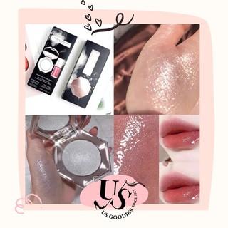 Set Fenty Beauty Diamond Bomb 2 phấn highlight & son bóng thumbnail