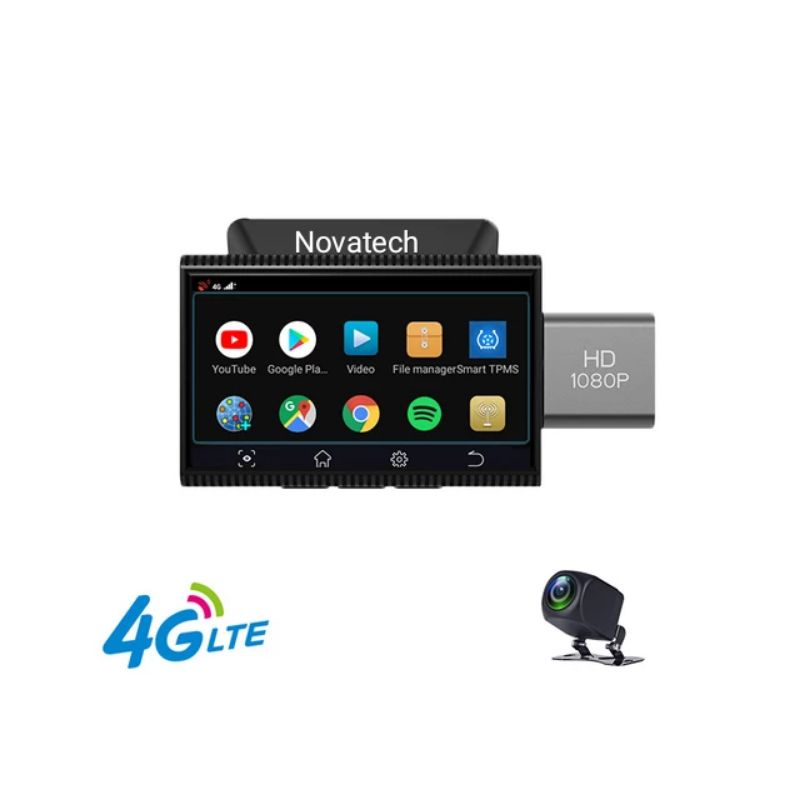 Camera Hành Trình J11 Android 4G WiFi - Định Vị Giám Sát Từ Xa - Điều khiển giọng nói