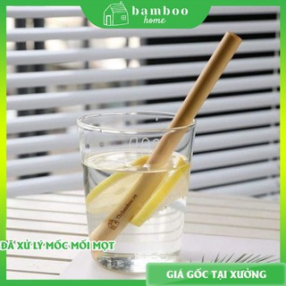 Ống hút tre THE BAMBOO màu sắc tự nhiên bảo vệ môi trường sử dụng nhiều lần (01 chiếc) thumbnail