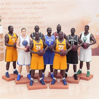 Creative boy gift NBA basketball star Coby curry, James Durant figure presents for students