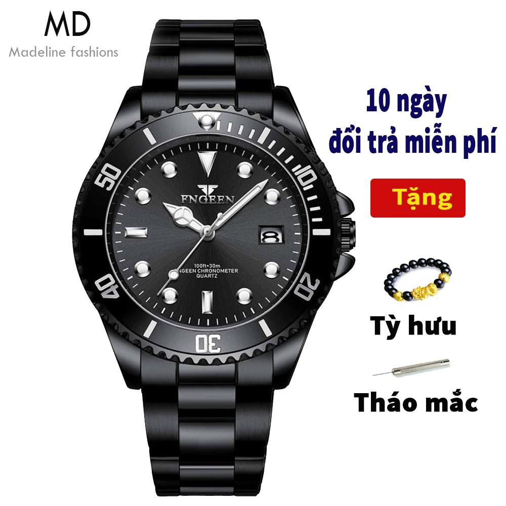 Đồng hồ nam FNGEEN chính hãng, mặt tuyệt đẹp, dạ quang, chống nước tốt ( Mã: A