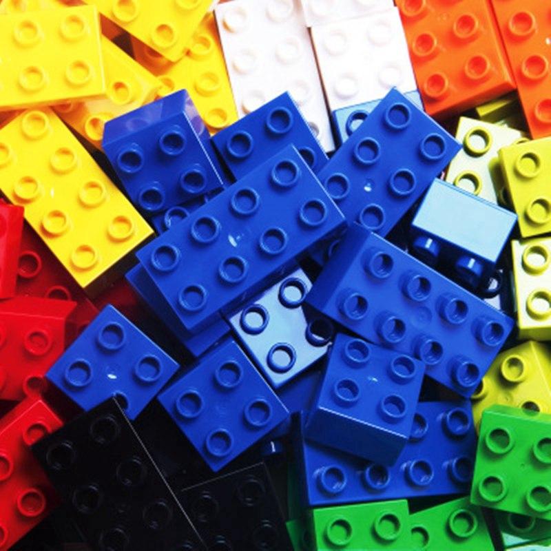 Bộ 120 khối Lego lắp ráp sáng tạo cho bé yêu