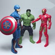 Bộ đồ chơi 3 siêu nhân anh hùng.