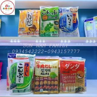 Hạt Nêm Ăn Dặm Nhật Đủ Vị Cho Bé – Dạng Gói Nhỏ Tiện Lợi