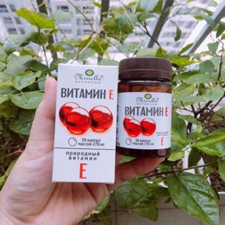 Vitamin E đỏ Nga mẫu mới lọ 30 viên thumbnail