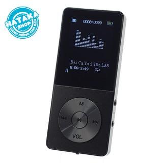 Máy nghe nhạc mp3 JS-09 bộ nhớ trong 8Gb 10h phát nhạc tặng tai nghe và dây sạc thumbnail