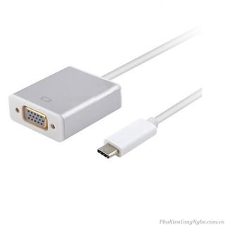 Cáp Chuyển USB Type C sang VGA – Type-c Tp VGA – typec to vga