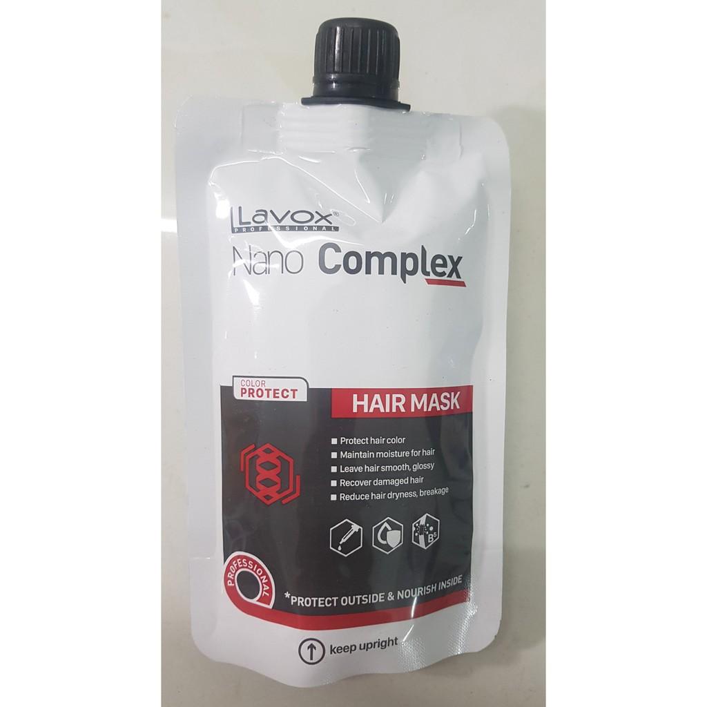 TÚI HẤP BẢO VỆ MÀU TÓC NHUỘM Lavox Nano Complex 150ml