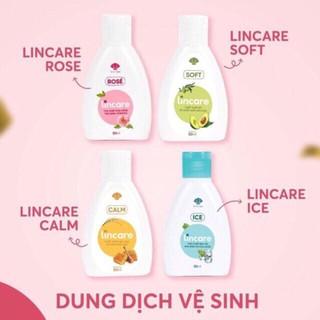 Dung dịch vệ sinh phụ nữ và cốc nguyệt san Lincare 50ml Lincare Ice Lincare Rose Lincare Soft Lincare Calm thumbnail