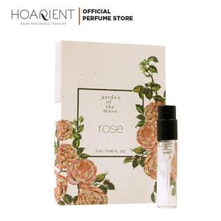 [Quà tặng không bán] Nước hoa Garden of the muse - Rose 2ml thumbnail