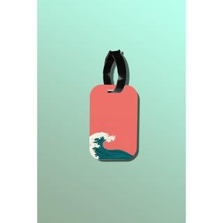 Tag hành lý du lịch in hình Wave Nami thumbnail