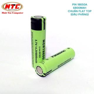 Combo 2 viên pin sạc 18650 Panasonic NCR18650A 4200mah 3.7v max 4.2v đúng chuẩn (Xanh lá)