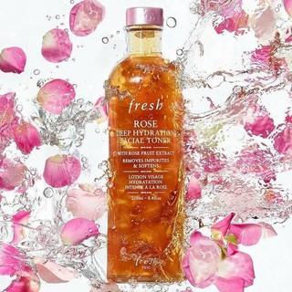 (Chính Hãng)Nước Hoa Hồng Fresh Rose Deep Hydration Facial Toner 250ml thumbnail