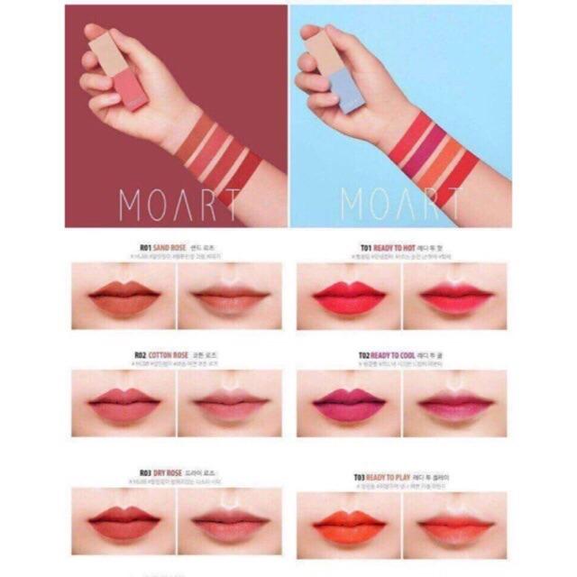 Son Lì Moart Velvet Lipstick - 2886636 , 193847818 , 322_193847818 , 240000 , Son-Li-Moart-Velvet-Lipstick-322_193847818 , shopee.vn , Son Lì Moart Velvet Lipstick