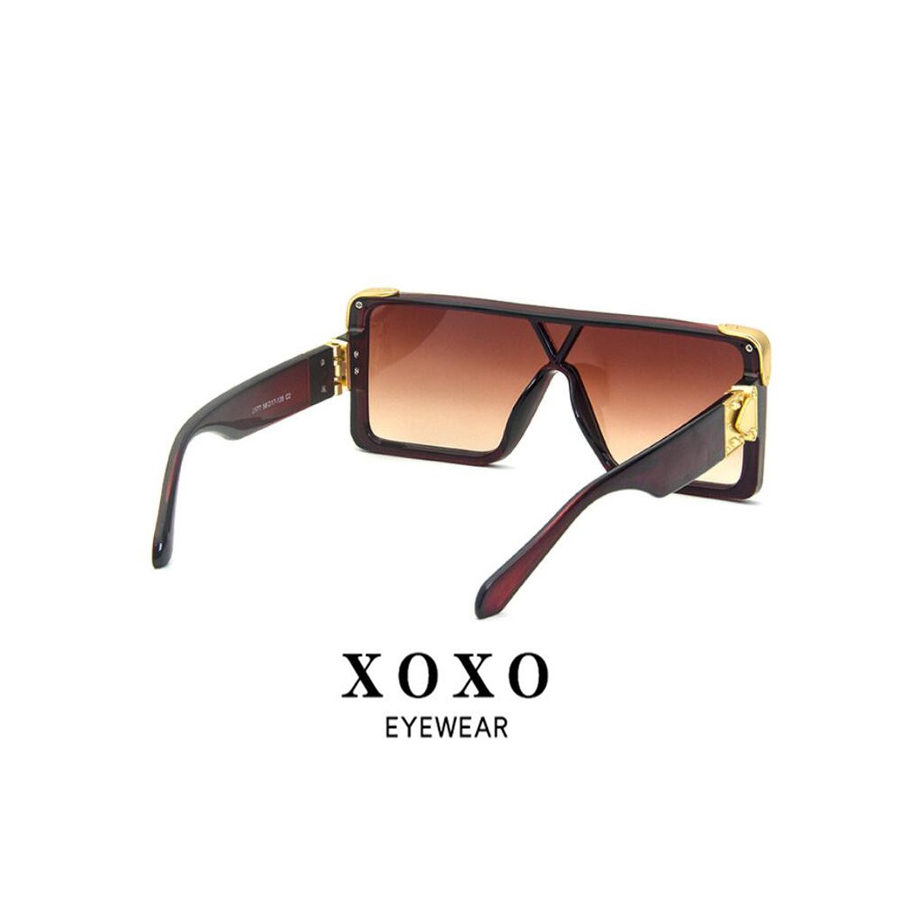 very big green sunglasses xoxo Fashion Large frame