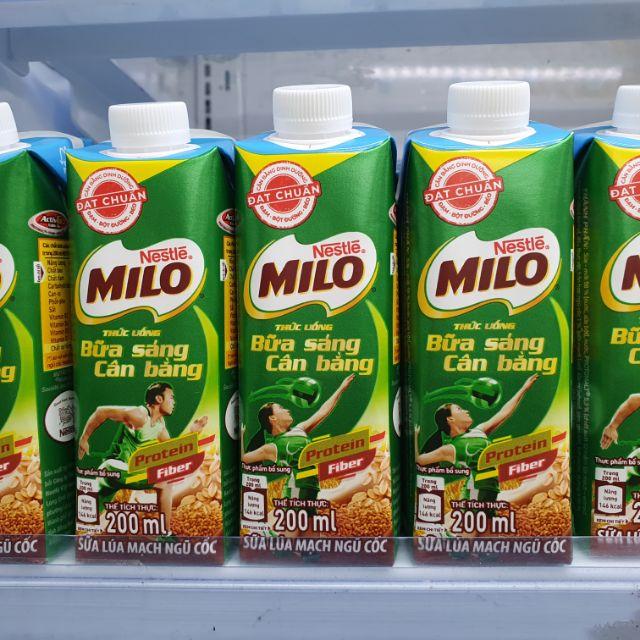 Milo ngũ cốc nắp vặn