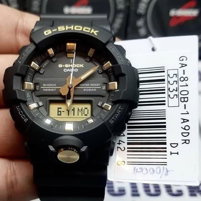 Đồng hồ nam Casio Đồng G-Shock GA-810B-1A9DR chính hãng - chống va đập chống nước 2