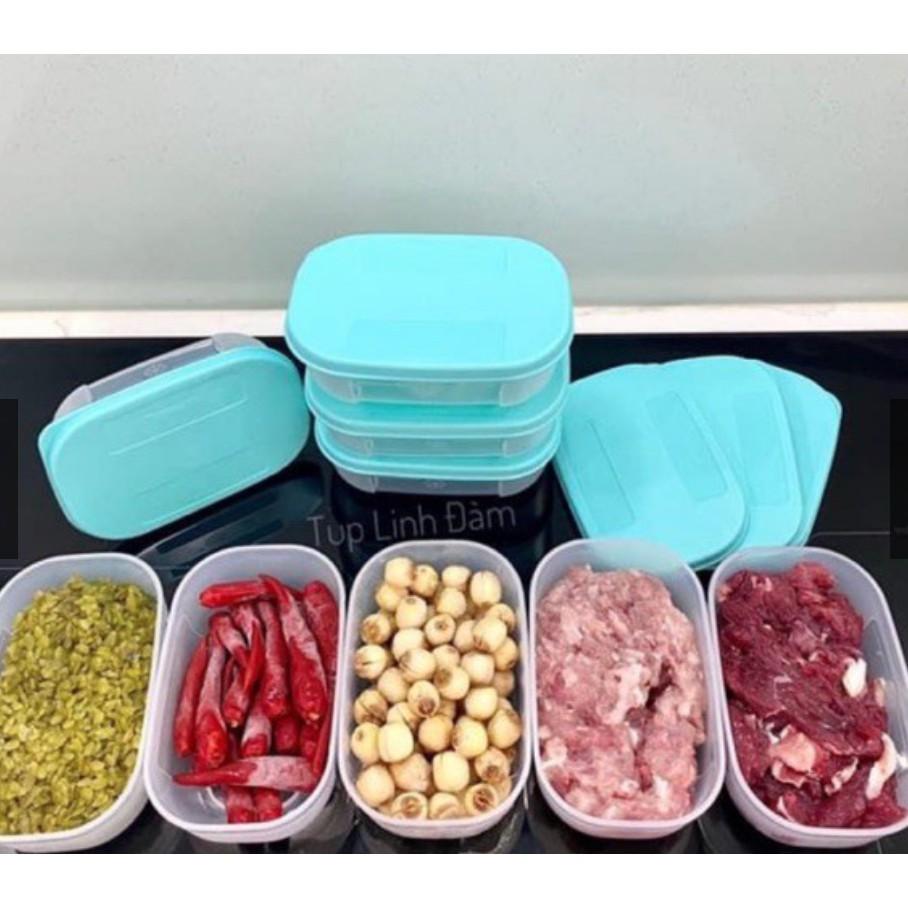 tupperware hộp ăn dặm cho bé miget 65ml , snack cup , trữ đông 140ml , 200ml , thìa , eco 90ml