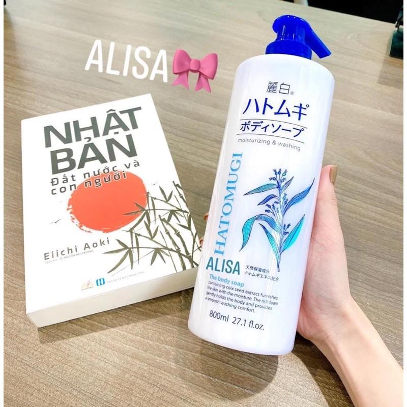 Bộ chăm sóc Body Hatomugi Nhật - ALISA