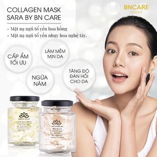 Mặt Nạ Ngủ Tổ Yến Collagen Cánh Hoa Hồng BnCare Dành Cho Da Nám