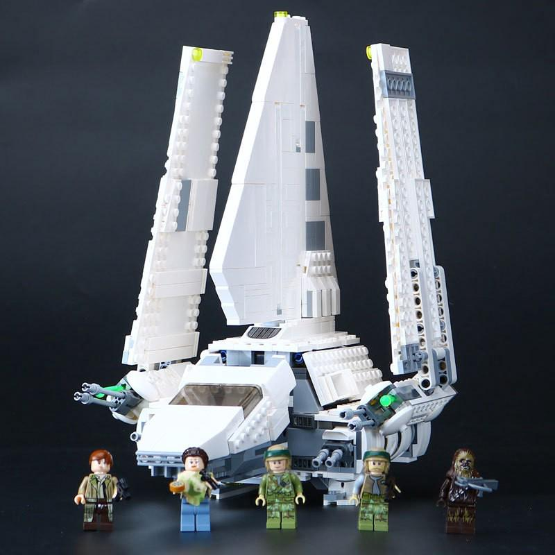 Compatible With 75094 LEPIN 05057 937pcs Star Plans IMPERIAL SHUTTLE TYDIRI