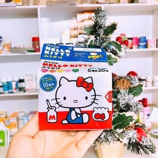 [Date 2021] Gia vị rắc cơm Hello kitty của Nhật cho bé 5 vị 20 gói (mẫu mới) thumbnail