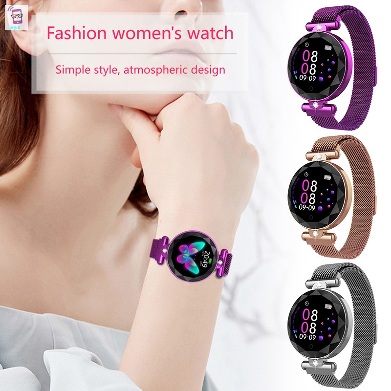 MG Bluetooth Smart Watch Waterproof TouchScreen Sports Health Watch for Android/ IOS Phones @vn