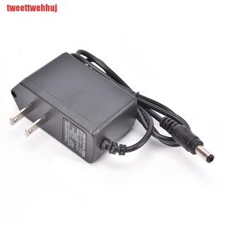{tweettwehhuj}Hot Sale AC to DC 9V 1A charger Adapter Power Supply Conventer 1000 mA 5.5X2.1 + 2.5X0.7 UUQ