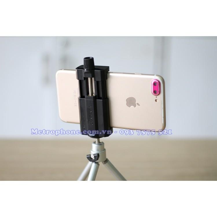 Khung kẹp/Giá đỡ gắn điện thoại lên chân máy ảnh KK-05( Không kèm chân tripod mini) - 10027115 , 210929589 , 322_210929589 , 80000 , Khung-kep-Gia-do-gan-dien-thoai-len-chan-may-anh-KK-05-Khong-kem-chan-tripod-mini-322_210929589 , shopee.vn , Khung kẹp/Giá đỡ gắn điện thoại lên chân máy ảnh KK-05( Không kèm chân tripod mini)