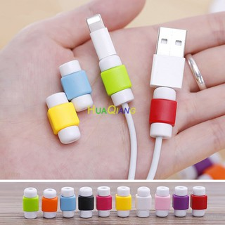Protector Saver Cover for Apple iPhone Lightning USB Charger Cable Cord