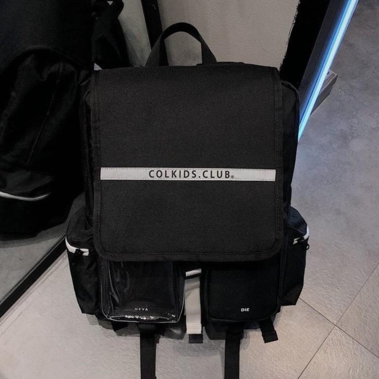 Balo colkids club ss3 custom [ full Tag + giấy thơm ]