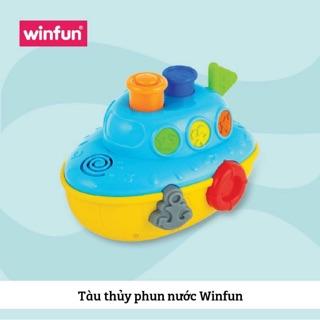 Tàu thuỷ phun nước Winfun có đèn nhạc