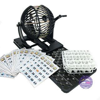 Bộ đồ chơi lồng quay lô tô 75 số Bingo Neo N1912