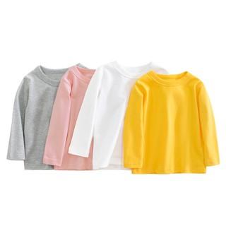 """Áo dài tay chất cotton viền cổ dành cho bé trai và bé gái từ 7-26kg giá chỉ còn <strong class=""""price"""">4.300.000.000đ</strong>"""
