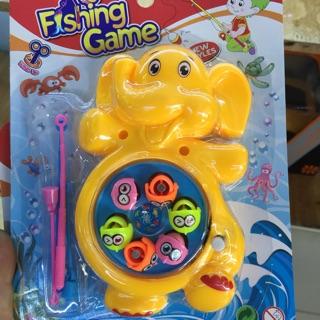 Đồ chơi câu cá nam châm voi con