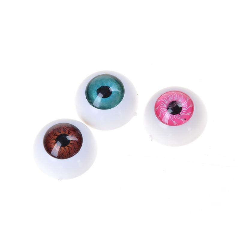 adore 10pcs(5pairs 20mm Half Round Doll Eyes Bjd Doll Troll Eye 3 Colors To Choose craving