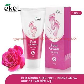 Kem dưỡng da chân chiết xuất hoa hồng - EKEL FOOT CREAM ROSE 100g