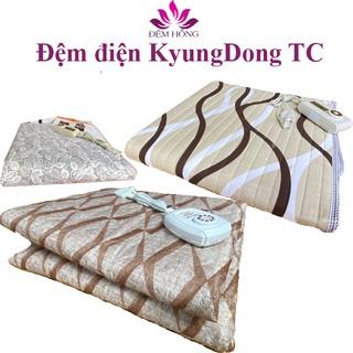 Đệm Điện Sưởi Ấm Chất Liệu Cotton Cao Cấp Hàn Quốc Kyungdong Vỏ TC