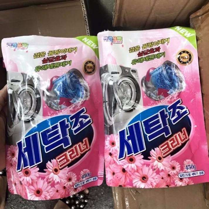 Bột vệ sinh lồng máy giặt Hàn Quốc hương hoa cỏ | Bột tấy lồng giặt Hàn Quốc - 3055091 , 548837784 , 322_548837784 , 39000 , Bot-ve-sinh-long-may-giat-Han-Quoc-huong-hoa-co-Bot-tay-long-giat-Han-Quoc-322_548837784 , shopee.vn , Bột vệ sinh lồng máy giặt Hàn Quốc hương hoa cỏ | Bột tấy lồng giặt Hàn Quốc