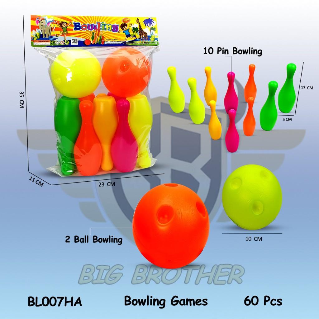 Bộ đồ chơi Bowling nhiều màu sắc cho bé Hkf-Bl007Ha
