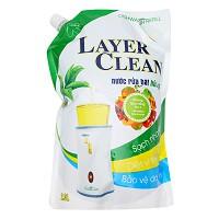 Nước Rửa Chén Hương Quả Hồng layer Clean (2L / Túi)