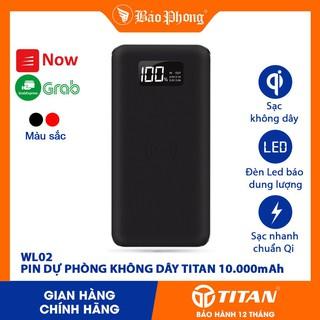Pin dự phòng sạc không dây 10000mAh TITAN WL02 thumbnail