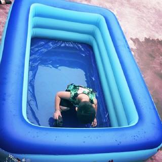 [ CHÍNH HÃNG ] Bể bơi phao 3 tầng m8 – BẢO HÀNH